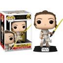 Rey (Yellow Lightsaber) POP! Star Wars 432 Bobble-head Funko