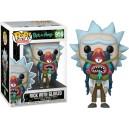 Rick with Glorzo - Rick and Morty POP! Animation 956 Figurine Funko