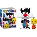 Sylvester & Tweety - Space Jam 2 POP! Movies 1087 Figurine Funko
