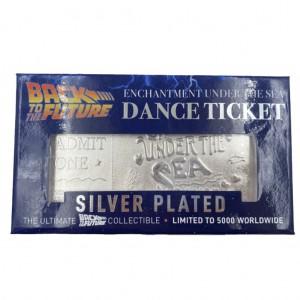 """Enchantment Under The Sea"" Silver Plated Dance Ticket Fanattik"