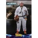 ACOMPTE 20% précommande Doc Brown - BTTF MMS Figurine 1/6 Hot Toys