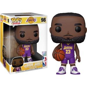 "LeBron James 10"" POP! Basketball 98 Figurine Funko"
