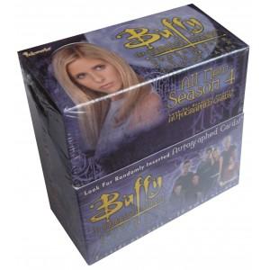 Boîte Trading Cards Buffy season 4 Inkworks