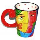 """Mug Rouge """"Muzeum"""""""