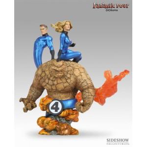Fantastic Four Diorama Sideshow