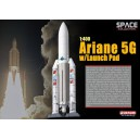 Ariane 5G with Launch Pad 1/400 scale Dragon Wings