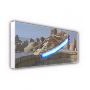 Millenium Falcon Canvas ID-Wall