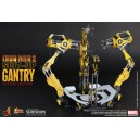 "Iron Man 2 Suit-Up Gantry 12"" figurine Hot Toys"