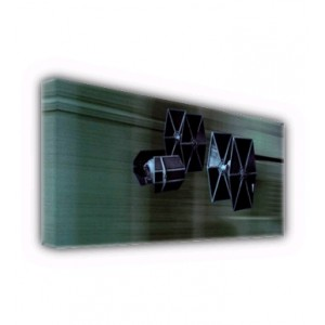 TIE Advanced and Fighters Canvas ID-Wall