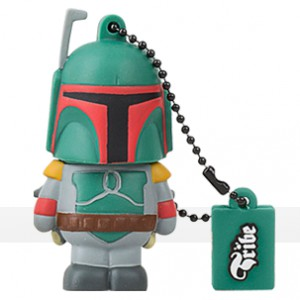 boba fett usb flash drive 8gb 1gb online tribe liberty toys. Black Bedroom Furniture Sets. Home Design Ideas