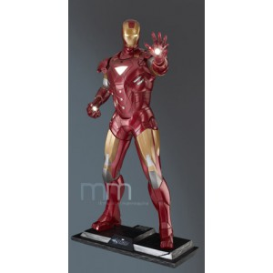 Captain America Civil War Figurine Power Pose Series 1/6 Iron Man Mark XLVI 31