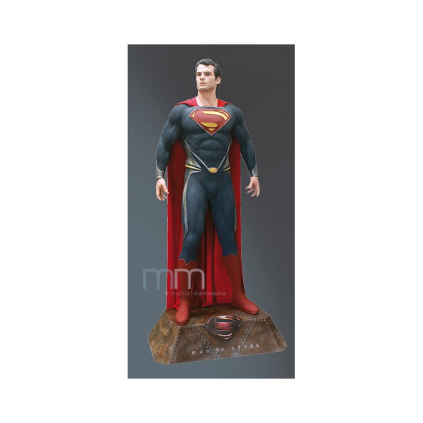 figurine superman taille reelle. Black Bedroom Furniture Sets. Home Design Ideas