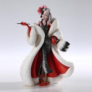 Cruella Haute Couture Disney Showcase Enesco