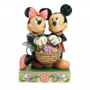 Love In Bloom (Mickey & Minnie) Disney Traditions Enesco