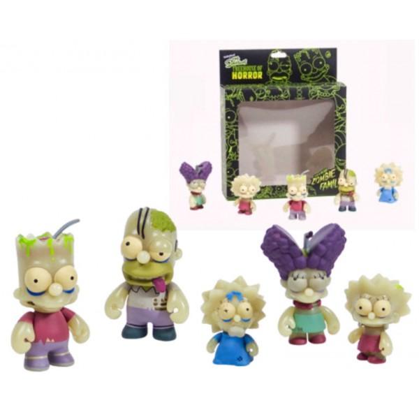 Figurines The Simpsons designées par Kidrobot Simpsons Web