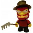 Willie Freddy Krueger 3/40 Simpsons Treehouse of Horror Figurine Kidrobot