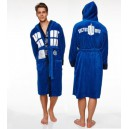 Peignoir de Bain Polaire (Adulte) Tardis Groovy UK