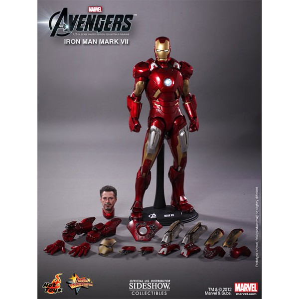 figurine iron man tabac