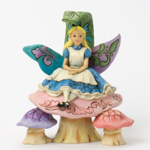 Changed So Much Since This Morning (Alice) Disney Traditions Enesco