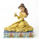 Curious And Kind (Belle & Zip) Disney Traditions Enesco