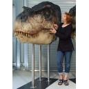T-Rex 2 (Gueule Fermée) Tête Taille Réelle Oxmox