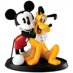 Best Friends (Mickey & Pluto) Disney Enchanting Collection Enesco
