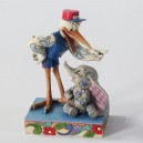 Special delivery (Dumbo et La Cigogne) Disney Traditions Enesco