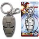 Iron Man 3 Head Porte-clés Métal Monogram