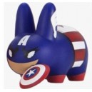 Captain America 2/20 Marvel Labbit Mini Series 2 2.5-Inch Figurine Kidrobot