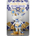 Porcelain Mickey Mouse Vinyl Art Figurine Play Imaginative