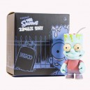 Zombie Bart ( Blue Version) 6-Inch Figurine Kidrobot
