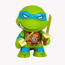 Leonardo TMNT Ooze Action Glow in the Dark Series Figurine Kidrobot