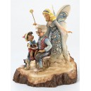 Wishing Upon A Star (Pinocchio) Wood Carved Disney Traditions Enesco
