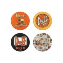 Set Sous-Verres Duff Beer Easy Licences