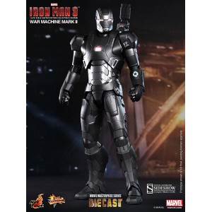 War Machine Mark II DIECAST Movie Masterpiece Series Figurine 1/6 Hot Toys