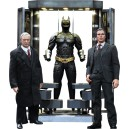 Batman Armory with Bruce Wayne and Alfred Figurine Set 1/6 Hot Toys