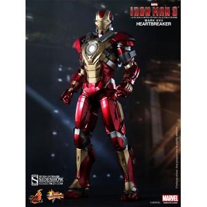 Iron Man Mark 17: Heartbreaker MMS Figurine 1/6 Hot Toys