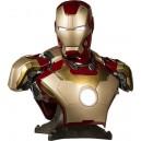 ACOMPTE 10% précommande Iron Man Mark 42 Life Size Buste Sideshow