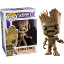 Angry Groot POP! Marvel Figurine Funko