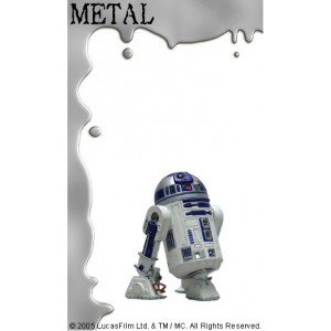 R2-D2 Métal Attakus