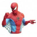 Spider-Man Bust Money Bank Monogram