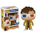 Tenth Doctor 3-D Specs Exclusive POP! Television Doctor Who Figurine Funko