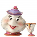 A Mother's Love (Mrs. Potts & Chip) Disney Traditions Enesco
