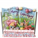 Merry Unbirthday (Alice) Storybook Disney Traditions Enesco