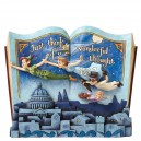 Off to Neverland (Peter Pan) Storybook Disney Traditions Enesco
