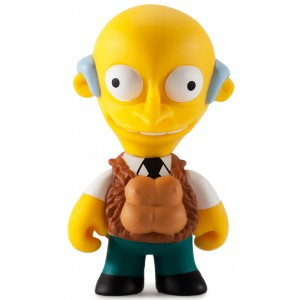 See My Vest Burns 1/40 The Simpsons 25th Anniversary Series Mini Figurine Kidrobot