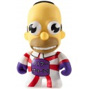 Mr. Sparkle (Red and White) 1/60 The Simpsons 25th Anniversary Series Mini Figurine Kidrobot