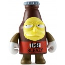 Sleazy Duff 3/80 The Simpsons 25th Anniversary Series Mini Figurine Kidrobot