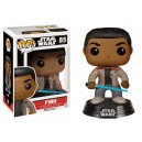 Finn Exclusive (with Lightsaber) POP! Bobble-head Funko