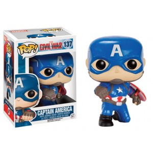 Captain America Exclusive - Captain America: Civil War POP! Marvel Bobble-head Funko